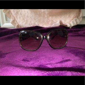 Accessories - Brown large sunglasses